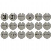 TIM HOLTZ® IDEA-OLOGY™ - Typed Tokens - Halloween - TH93310
